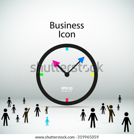Abstract Composition Manage Human Resources Working Stock ...