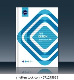 Abstract composition, quadrangle font texture, blue square part construction, white a4 brochure title sheet, creative figure icon, logo sign, text frame surface, firm banner form, flier fiber, EPS10