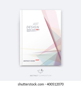 Abstract composition, rosy pastel font texture, stripe section surface, lines construction, white a4 brochure title sheet, creative figure vector art, commercial offer, banner form, flyer fiber frame