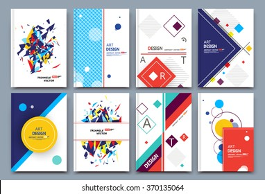 Abstract composition, white font texture, business card set, correspondence letter collection, a4 brochure title sheet, patch part construction, creative text frame surface, figure logo icon, EPS10