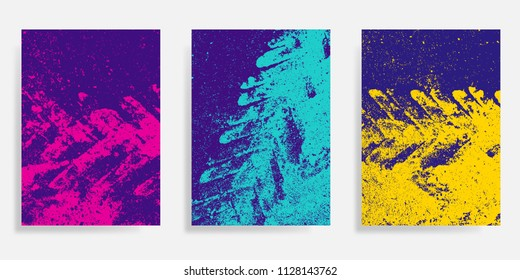 Abstract concrete textured, stucco background. Vector illustration design for cover, flyer,  card, poster or brochure template.