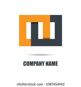 Abstract Connect Design Logo vector