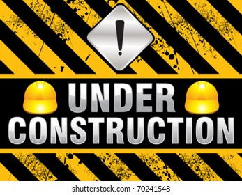 abstract construction background vector illustration