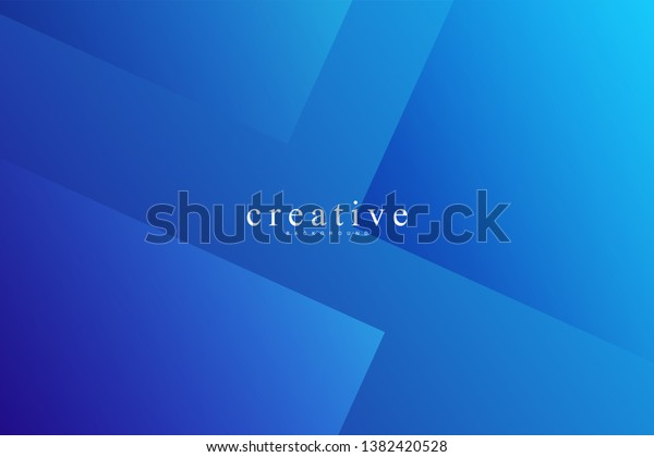 Abstract Cool Background Square Shape Wavy Stock Vector