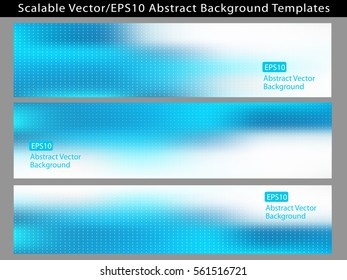 Abstract cool blue backgrounds EPS10 vector templates for various medical, business or any communication arts, social media, graphics, cards, banners, ads and much more. Plenty of space for text.