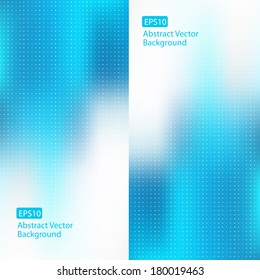 Abstract cool blue design backgrounds EPS10 vector templates for various artworks, DVDs, graphics, cards, banners, ads and much more. Plenty of space for text.