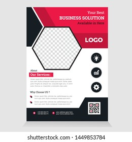 Abstract Corporate Flyer Brochure Design Template