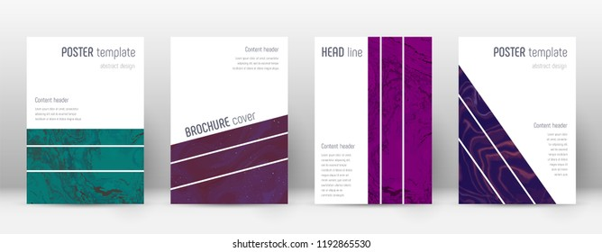 Abstract cover. Bizarre design template. Suminagashi marble geometric poster. Bizarre trendy abstract cover. Business vector illustration.