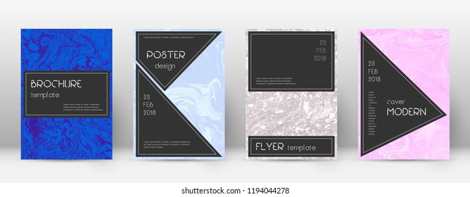 Abstract cover. Bizarre design template. Suminagashi marble black poster. Bizarre trendy abstract cover. Business vector illustration.