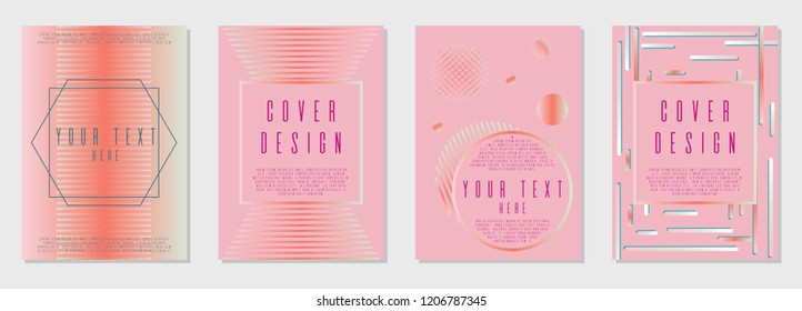 Abstract cover  corporate style.  A4 brochure title sheet. Can be used for poster, brochure, magazine, card, book, flyer, banner, anniversary. Trendy corporate style.