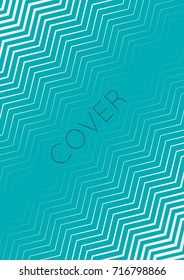 Abstract cover. Futuristic geometric template for banner, poster, flyer, brochure. Minimal trendy layout with halftone gradients. Abstract EPS 10 illustration. Minimalistic colorful cover.