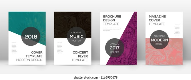 Abstract cover. Good-looking design template. Suminagashi marble modern poster. Good-looking trendy abstract cover. Business vector illustration.