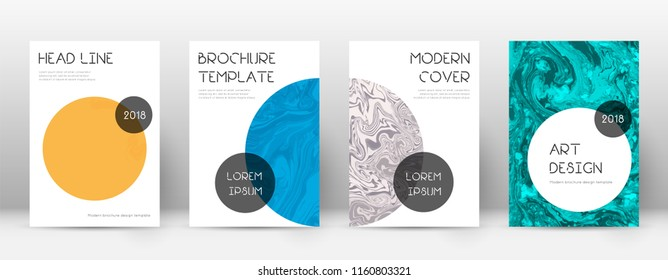 Abstract cover. Juicy design template. Suminagashi marble trendy poster. Juicy trendy abstract cover. Business vector illustration.