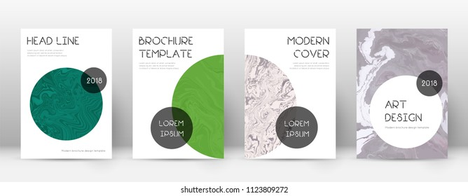 Abstract cover. Magnetic design template. Suminagashi marble trendy poster. Magnetic trendy abstract cover. Business vector illustration.