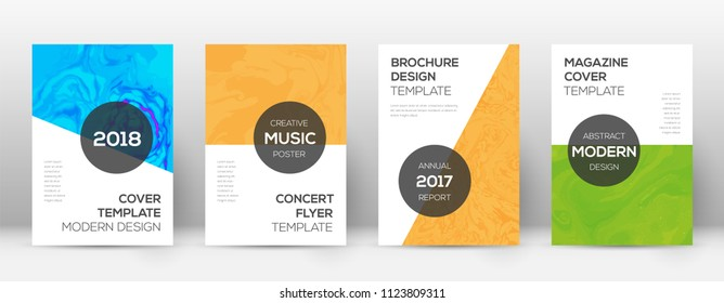 Abstract cover. Remarkable design template. Suminagashi marble modern poster. Remarkable trendy abstract cover. Business vector illustration.
