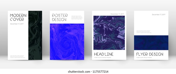 Abstract cover. Stylish design template. Suminagashi marble minimal poster. Stylish trendy abstract cover. Business vector illustration.