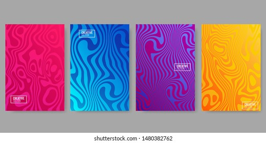 Abstract covers design. Colorful halftone gradients.background modern template design for web