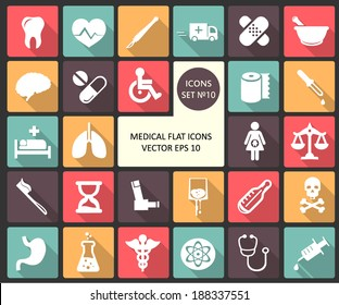 Abstract Creative concept  vector Flat Icon Set for Web and Mobile Applications