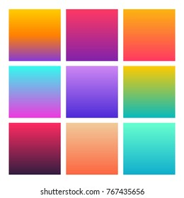 Abstract Creative concept vector multicolored background. Colorful smooth banner template