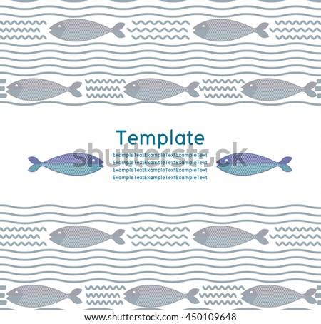 abstract creative fish pattern pattern fish stock vector royalty