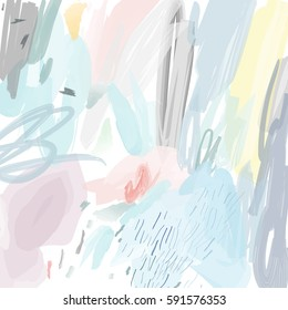 Abstract creative header. Modern artistic background. Contemporary graphic design. Vector.