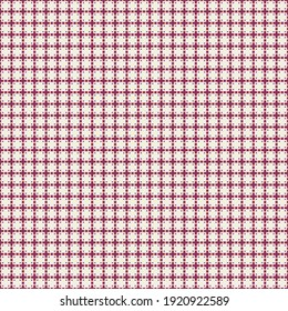 Abstract Cross Pattern generative computational art illustration