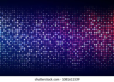 Abstract cyber space environment background. Digital particles grid virtual reality. Graphic concept for your design