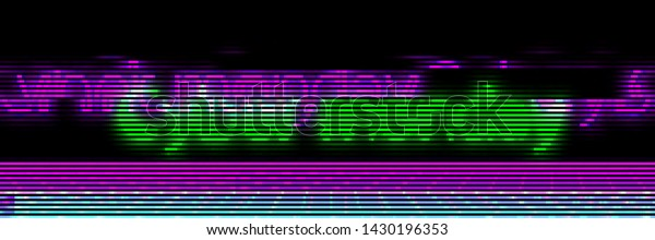 Abstract Cyberpunk Background Text Cyber Monday Stock Vector