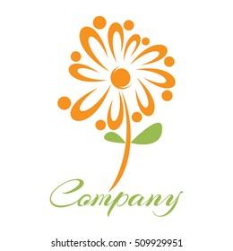 Abstract daisy logo