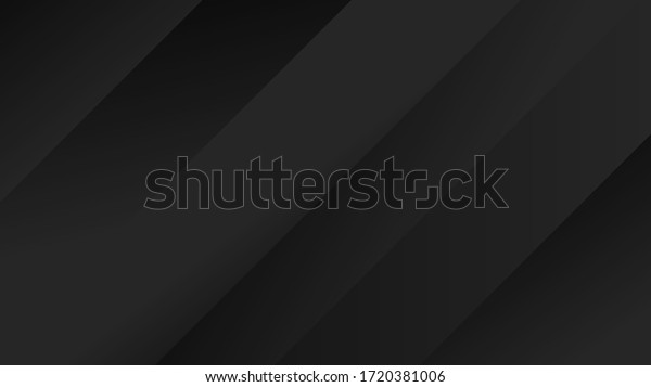 Abstract Dark Background Illustration with Lines Elements