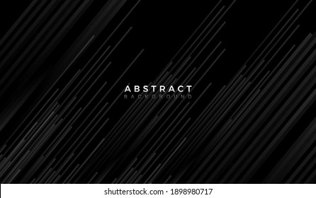 abstract dark  background with shiny lines, particle. . vector design template for banner, advertising, poster, cover.