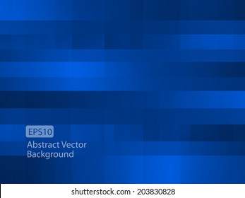 Abstract dark blue random pixel background