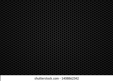 abstract dark hexagonal background with gradient. Vector illustration EPS10
