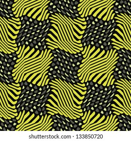 Abstract decorative berry glade print. Seamless pattern. Vector.