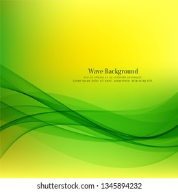Abstract decorative wave background