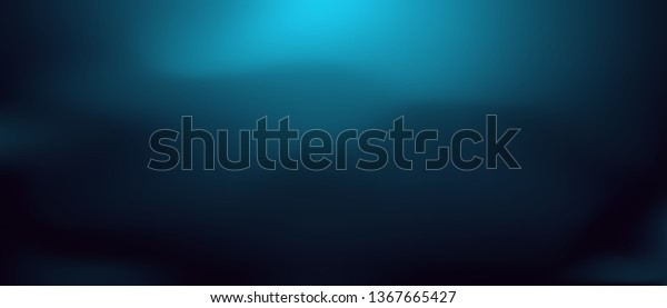 Abstract Deep Water Background Underwater Vector Stock