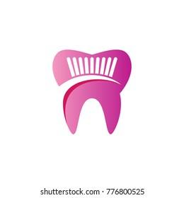 abstract dental logo