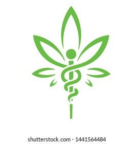 abstract design for cannabis or cbd companies