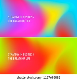 Abstract design of colourful flow vector elements for modern background with fluid gradient shapes for business branding finance