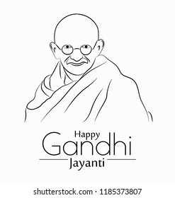 Abstract design for gandhi jayanti.
