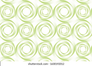 The abstract design. Green vortex abstract background vector.