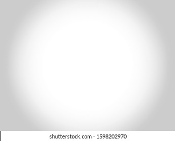 The abstract design. Grey white vignette background vector.