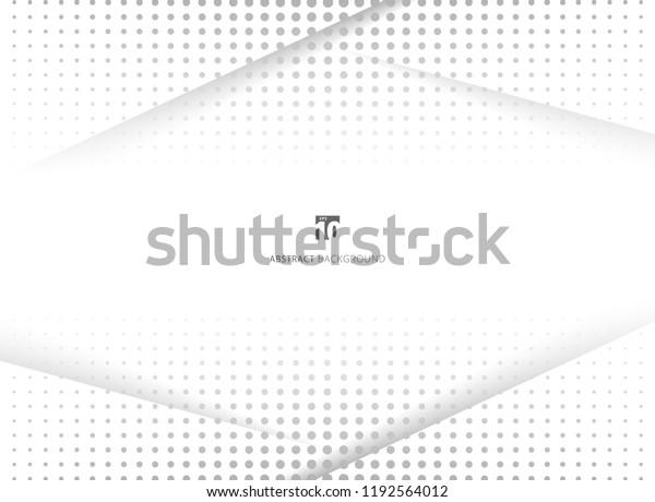 Image Vectorielle De Stock De Conception Abstraite Arriere Plan Blanc Et Gris 1192564012