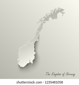 Abstract design map the Kingdom of Norway template