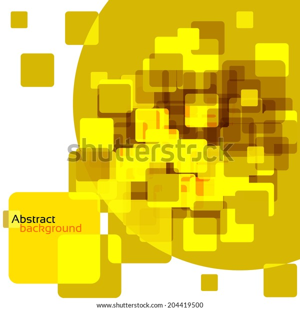 abstract design orange geometric background
