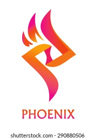 abstract design Phoenix