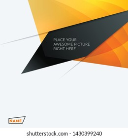 Abstract design of vector elements for graphic template. Modern background. Colourful shapes for business branding, website sale, marketing, discount, offer.