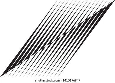 Abstract diagonal halftone lines background, creative geometric pattern, vector modern design texture for cover, banner, poster, flyer.