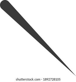 Abstract Diagonal Hand Drawn Baseball Concept