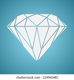 Abstract diamond vector